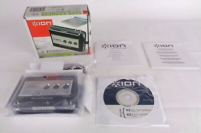 ION Audio Tape Express Cassette Tape to MP3 Converter/ Player