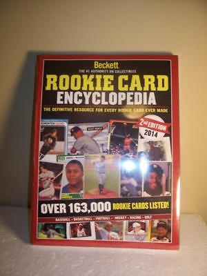 Beckett Rookie Card Encyclopedia 2014 2nd Edition Brand New in Cellophane