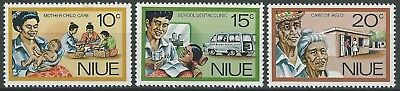 NIUE 1977- Personal Services - Full set (3v) - SG:216-218 , MNH