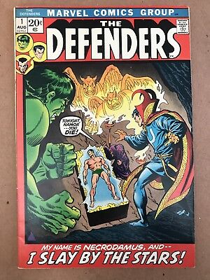 The Defenders 1 (August, 1972) | FINE+ | First Issue In Run | Marvel