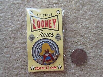Yosemite Sam Original Looney Tunes Pin New in Pack