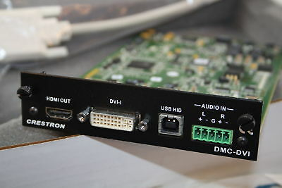 Crestron DMC-DVI DigitalMedia Card / SN 89360116502663