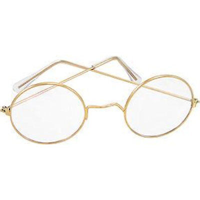 Round Glasses Santa & Mrs. Claus OLD Fashioned Spectacles Franklin steampunk