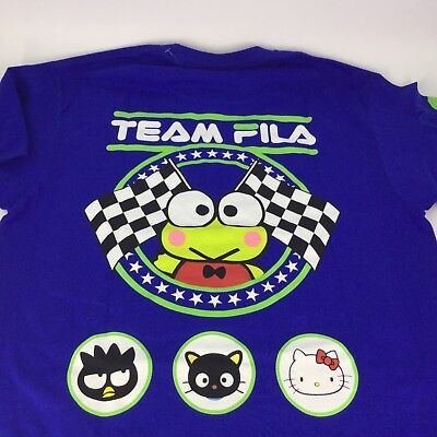 ComplexCon 2017 Hello Kitty X FILA X Urban Outfitters T-Shirt LE 100 Keroppi Med