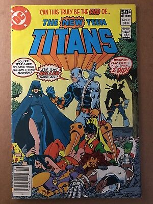 The New Teen Titans 2 | 1st Appearance Of Deathstroke | VF- | Newsstand Variant