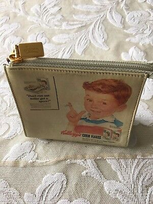 Icon Kellogg's Leather Purse/wallet Never Used No Tags** Cute Graphics**