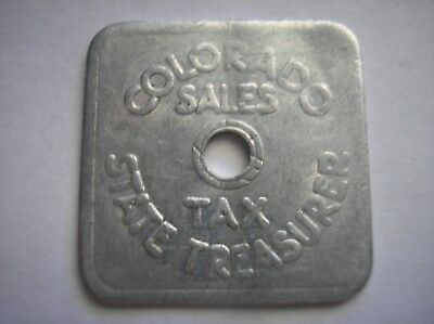 COLORADO Sales Tax State Treasurer One-Fifth Cent A-35 EXONUMIA Token Coin