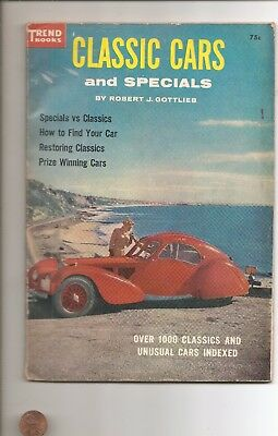 Trend Books Classic Cars And Specials 128 Pages Over 1000 Classics & Unusual