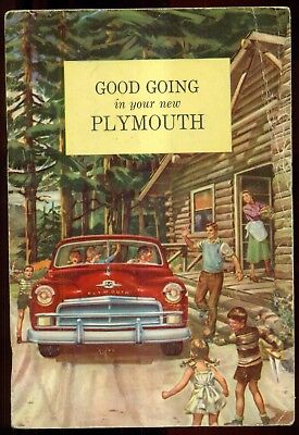 "1950 ""Good Going in your new Plymouth"" Chrysler Corporation Publication"