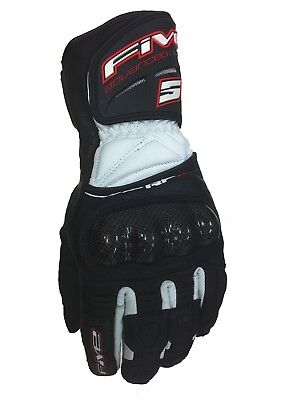 Motorcycle gloves FIVE RFX Size L/10 Brand New with tags - Free Post