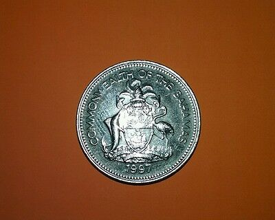 1997 25 Cent Commonwealth of The Bahamas