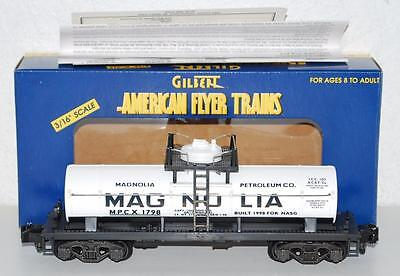 American Flyer 6-48211 Magnolia Oil tank car NASG 1998 MPCX S gauge single dome