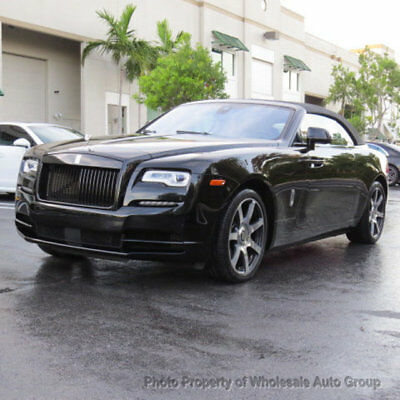 2017 Rolls-Royce Dawn Convertible BLACK ON BLACK. LOADED. FULLY LOADED. WON'T LAST LONG. NATIONWIDE SHIPPING
