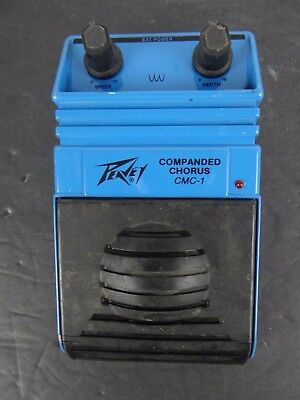 Peavey CMC-1 Companded Chorus USA Made Guitar Effects Pedal