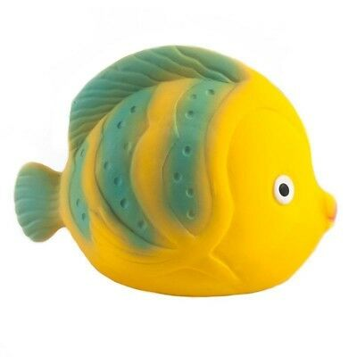 Bath Toy by Caaocho Baby Toys Natural Rubber Bathtime New La the Butterfly Fish