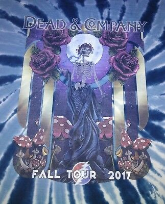 Dead and Company Fall Tour 2017 Bertha Dark Blue Tye Dye