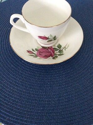 'Elizabethan' English Bone China Cup And Saucer By Taylor & Kent