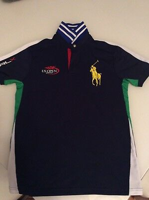 Mens/boys Ball Boy Ralph Lauren Rlx Us Open 2014 Official Ball Boys Top Size S