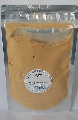 Raw Organic Mesquite Powder 100g