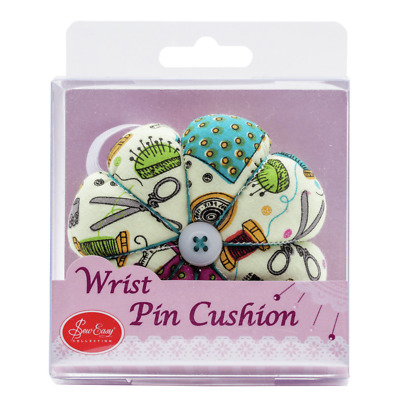 Sew Easy Sewing Pin Cushion for Wrist Notions Design