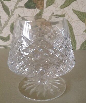 Tyrone Crystal Sperrins  Brandy Glass Up To 2 Available