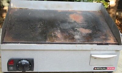 ANVIL Flat top griller electric -12 months old, works perfectly + manual