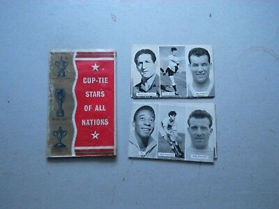Cup-Tie Stars Of All Nations Wallet Complete With 12 Cards  Free Gifts From Vict
