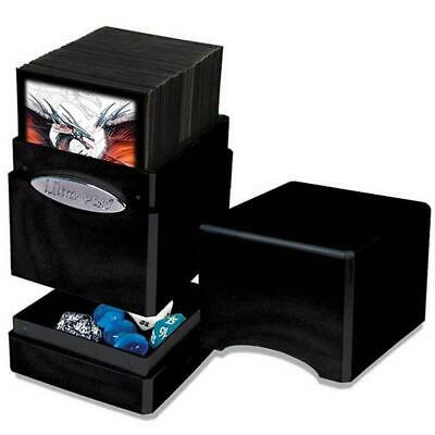 ULTRA PRO Satin Tower Midnight Satin Deck Box Card Storage MTG Yugioh Pokemon