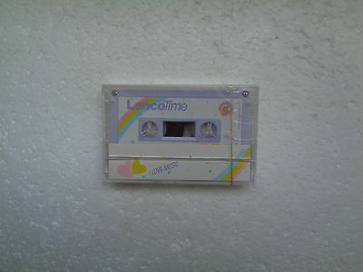Vintage Audio Cassette LENCO Time C-60 * Rare From Hong Kong 1980's * Purple