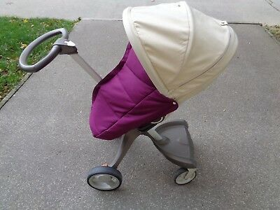 Footcover fits any stroller also Stokke