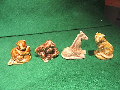 Wade England Red Rose Tea, Lot of 4 different figures figurines