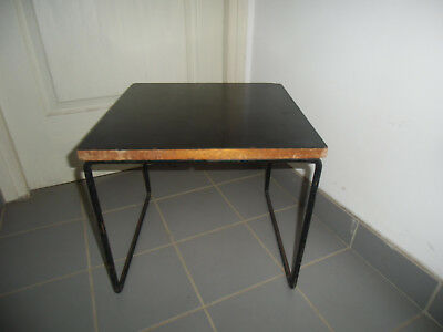 Table basse  GUARICHE édition  STEINER   stratifié noir
