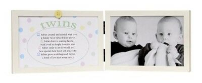 The Grandparent Gift Co. Sweet Something Frame, Twins