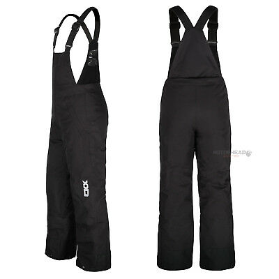 Snowmobile CKX Air Bib Youth Kids Size 4 Black Snow Winter Pants Best Quality
