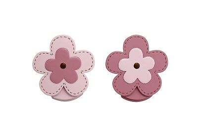 OpenBox NoJo Wall Decor Clip, Flower, 2 Count