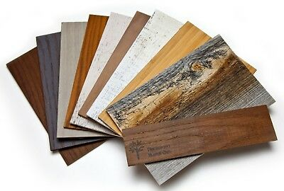 OpenBox Stikwood Sample Set Wall Decor