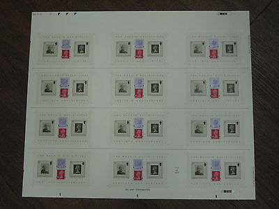 Press Sheet 2007 Arnold Machin Miniature Sheet Ms 2743 Royal Mail