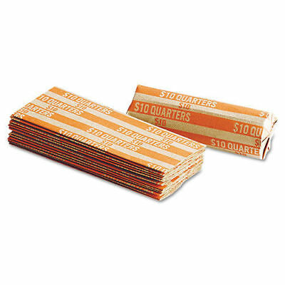 20 Quarter - Pop-Open Flat Paper Coin Wrappers  tubes for quarters