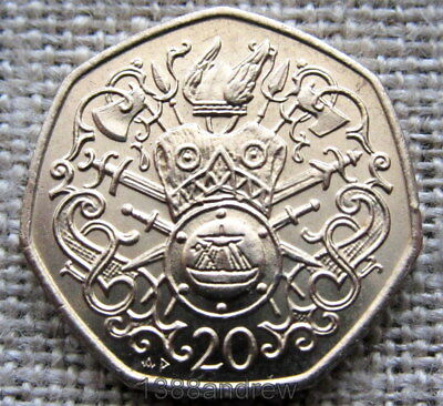 Isle Of Man 1982 Ad 20 Pence, Medieval Norse History, Unc