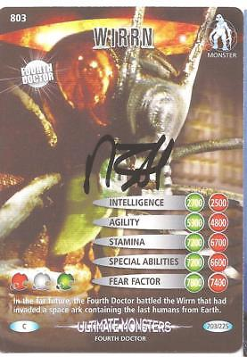 Doctor Who - Nick Hobbs signed Battles in Time card