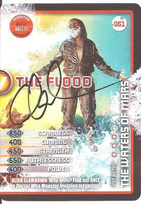 Doctor Who - Chook Sibtain signed Monster Invasion card