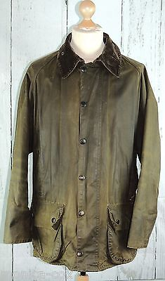 Men's Barbour Classic Beaufort Wax Jacket Hunting/shooting/fishing - Chest 44""