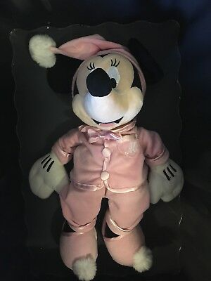 Disney Store Minnie Mouse In Pyjamas Plush