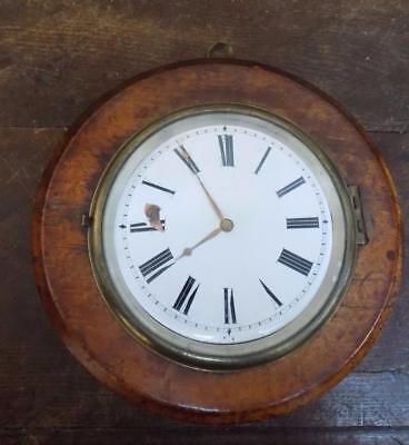 sedan clock with wrong movement in it