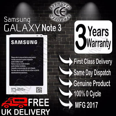 New Genuine Replacement 3200mAh Battery For Samsung Galaxy NOTE 3 III N9000 UK