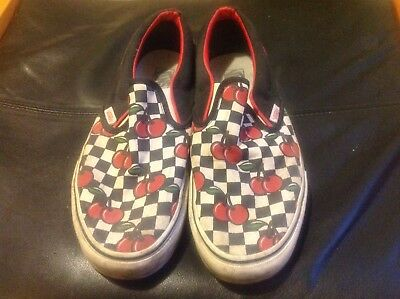 Vans Classic Slip On Cherry Check UK10