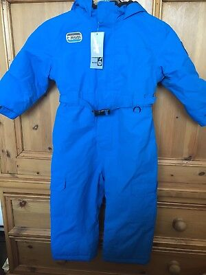 Blue All In One Snowsuit Age 2-3 Years BNWT
