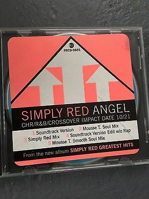 Simply Red Angel Promotional cd Single Remixes RARE