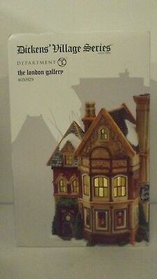 Dept 56 Dickens Village The London Gallery 4050929 New MIB