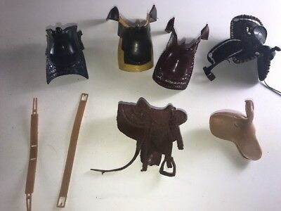 Hartland Plastics Horse Saddle Lot